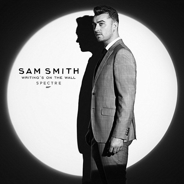First look: Sam released the first teaser for his James Bond  tune on his Twitter page, earlier this month