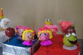 Resultado de imagen para manzanas decoradas para bautizo