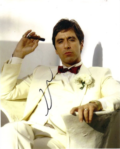 Loved Al Pachino in this role. Acting at its best.  Love Tony Montana all time fave movie.