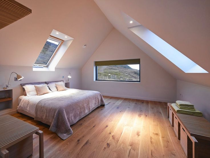 Camera calda e spaziosa #mansarda #bedroom #attic