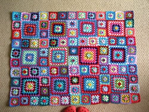 Granny square blankets. things-i-just-love