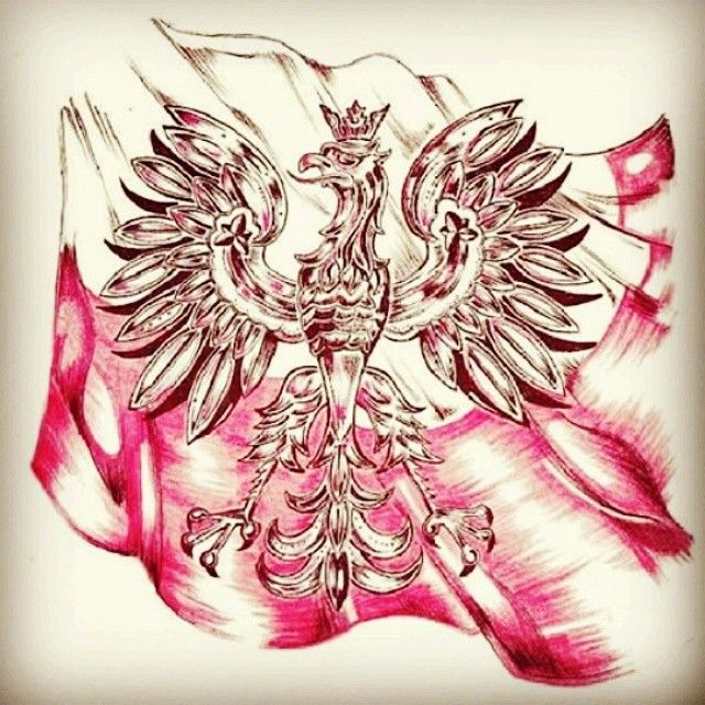 #polska #orzeł #białoczerwone #grafikapatriotyczna #flaga #hashtagfriday #japierdole #dumny