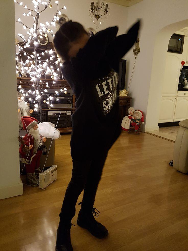 Dep! X-mas time at grandma and grandpa's house 2016