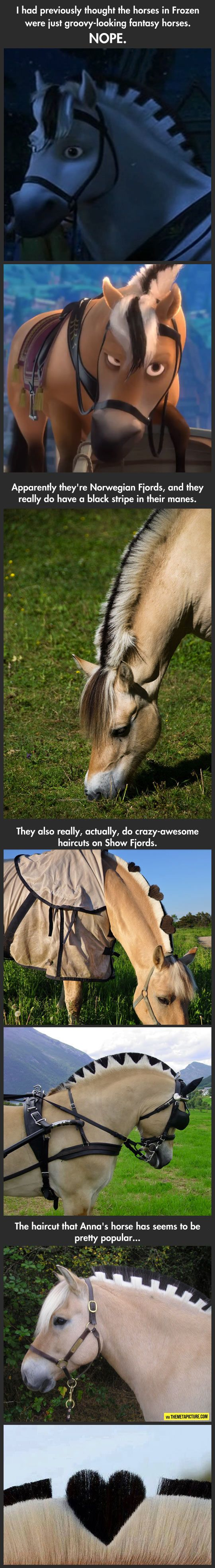 So The Horses In Frozen Are Real