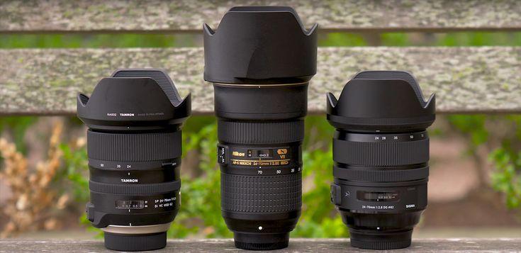 Nikon 24-70mm f/2.8E ED VR vs. Tamron SP 24-70mm f/2.8 Di VC USD G2 vs. Sigma 24-70mm f/2.8 DG OS HSM Art lens comparison | Nikon Rumors