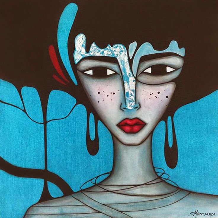 """Sandra Mucciardi : OCEANA - 16"""" x 16"""" - Acrylic on canvas.To view more art by SANDRA MUCCIARDI visit... www.sandramucciardi.com"""