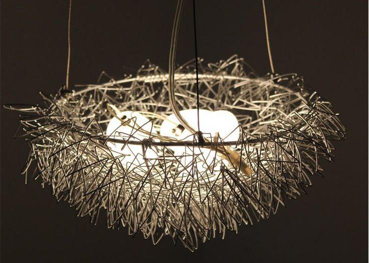 En Gros Nid Du0027oiseau Lumière Lustre Pendentif Lampe éclairage Résidentiel  Dansu2026