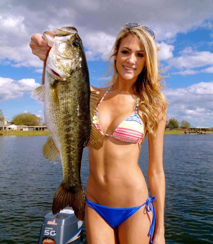 Fishing naked bass