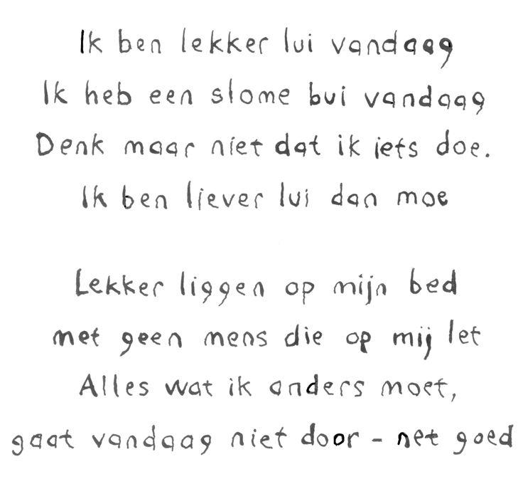 Lui - Lazy. Visit: www.emilieslanguages.com or https://www.facebook.com/emilieslanguages #emilieslanguages #dutch #darwin