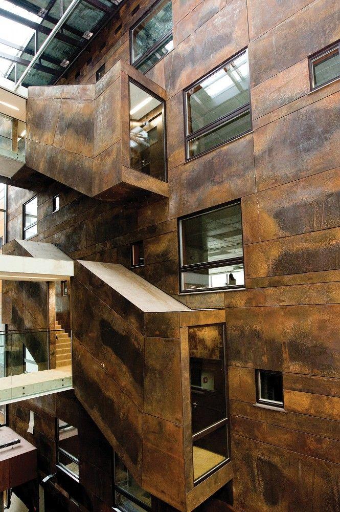 Rotermann's Old and New Flour Storage in Tallin, Estonia by HGA (Hayashi-Grossschmidt Arhitektuur)