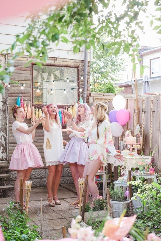How To Have A Pastel Inspired Bridal Shower