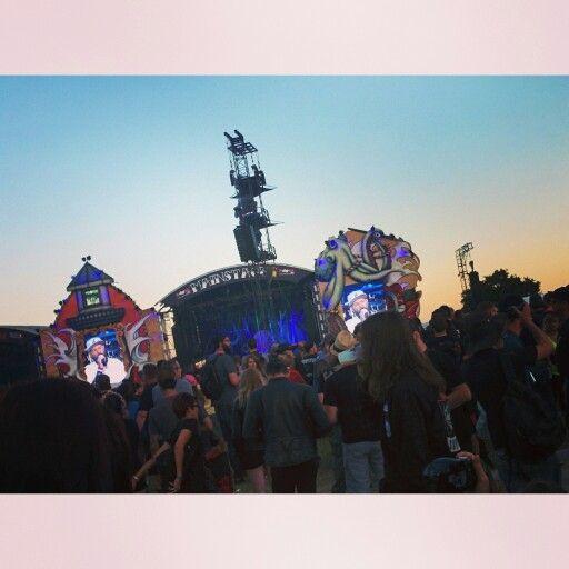 Limpbizkit playing at #Hellfest #festival #metal #fusion #HellfestOpenair2015
