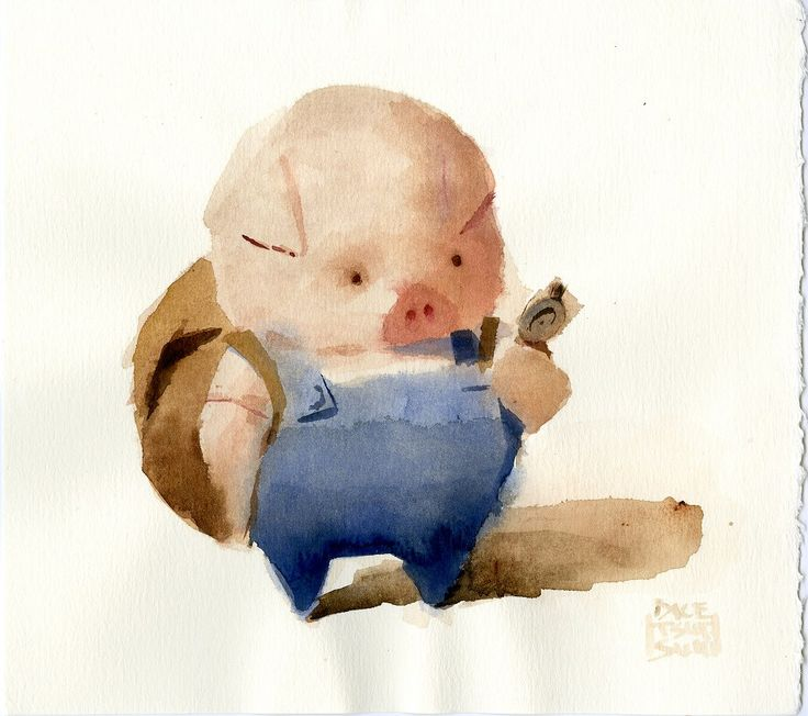 Concept artwork by Dice Tsutsumi for the animated short film 'The Dam Keeper' directed by Robert Kondo and Dice Tsutsumi, 2014.  www.TheDamKeeper.com www.Facebook.com/TheDamKeeper