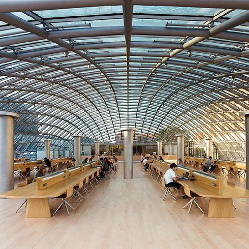 Joe & Rika Mansueto Library at the University of Chicago — Chicago, Ill. | 49 Breathtaking Libraries From All Over The World