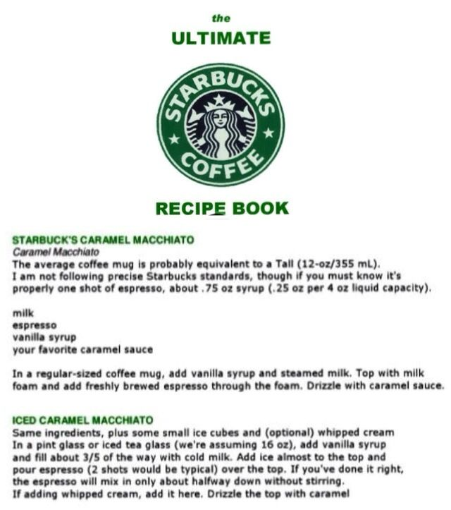 Starbucks Iced Coffee Maker Recipe : Pin by Marie Calia on THE ULTIMATE STARBUCKS COFFEE RECIPE BOOK Pin?