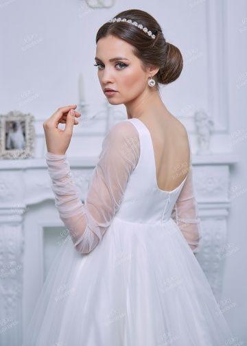RB007Свадебное платье с рукавом, свадебное платье с открытой спиной