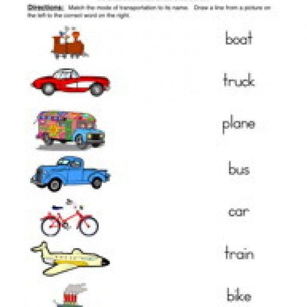 All kinds of transportation worksheets | Anushka Shyam ...