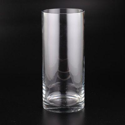 Diamond Star Glass Cylinder Vase