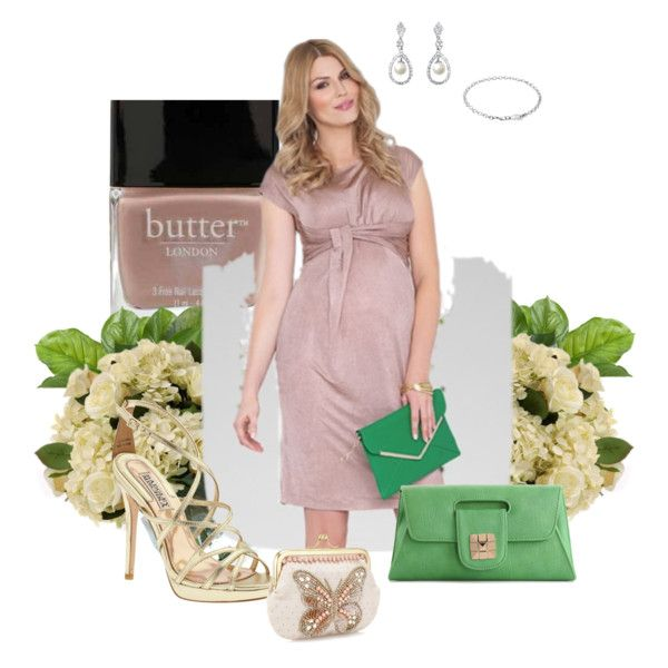 """Wedding Guest Maternity Outfit"" by kirstenbaxter on Polyvore"