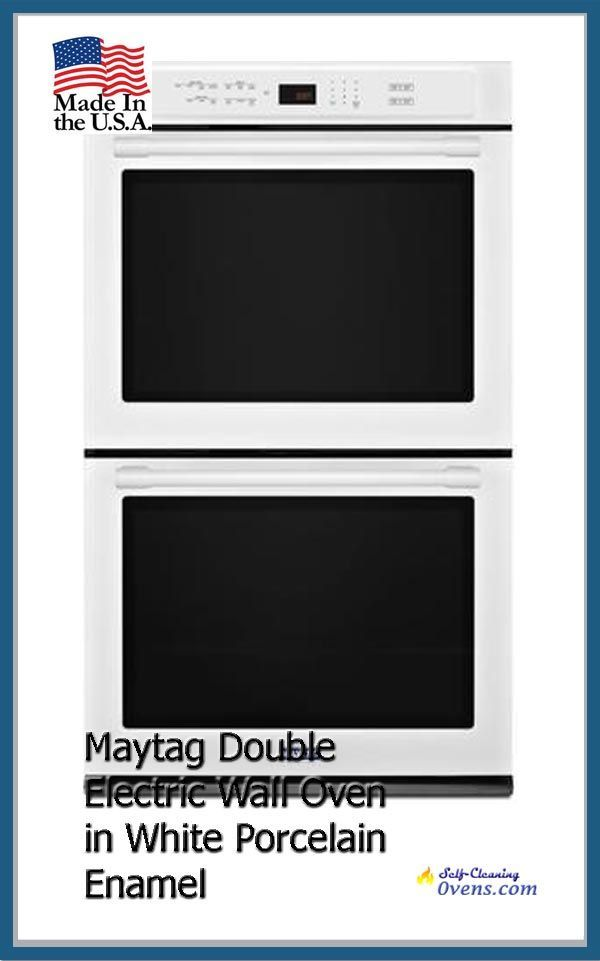 Maytag 30 Double Electric Wall Oven Mew9630fw Self Cleaning