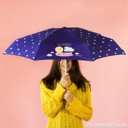 Paraguas wonder - Sonríe, solo llueve