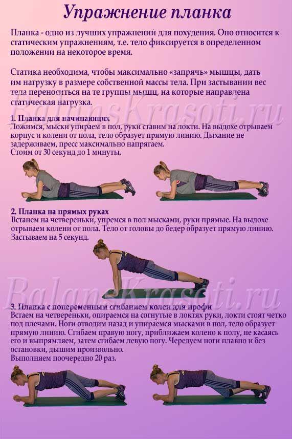 Бодифлекс для живота 5 упражнений для похудения