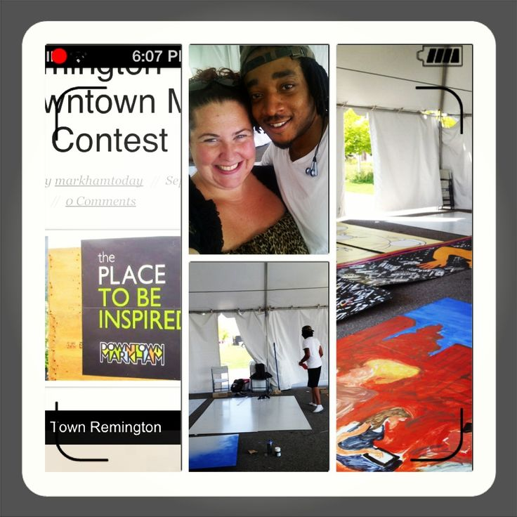 Congrats to our client Artsgolden for being a finalist in the downtown markham art contest