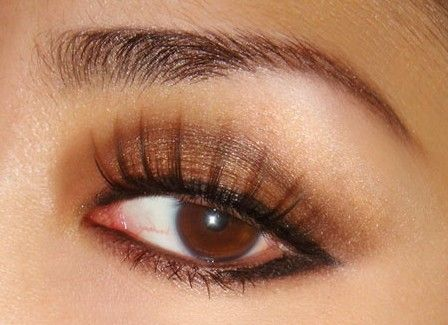 How to Apply Eyeshadow for Brown Eyes Step by Step