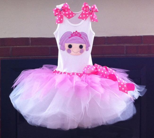 Princess lala loopsy tutu dress! jocelin would love this!