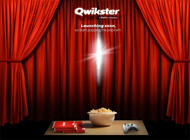 Netflix DVD mailing service to split off and become Qwikster