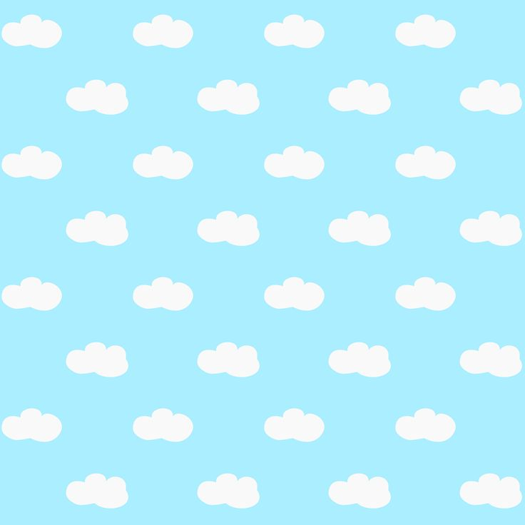 Free printable fluffy clouds pattern paper