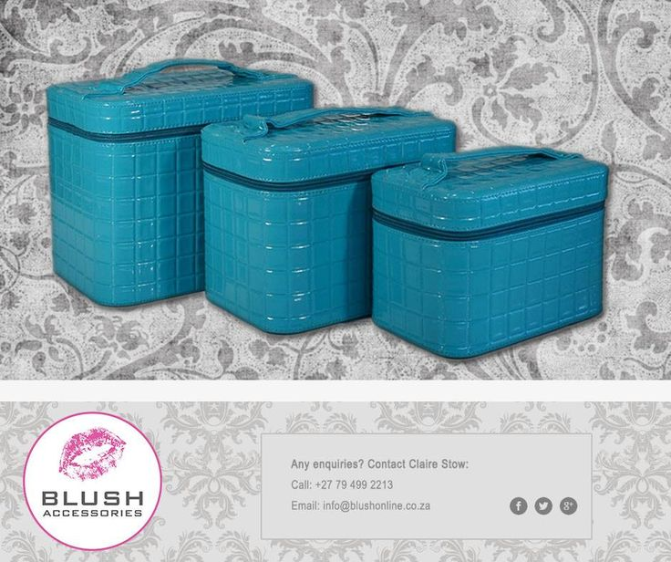 These stunning #vanitycases from #Blush are the perfect accessory to store your beauty products the stylish way. Always keep it #fabulous!