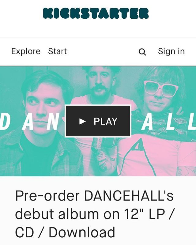 Were doing pre-orders for our DEBUT ALBUM on @kickstarter right now. Were currently sitting pretty at 60% with a week to go!!! Get involved link in bio. Any amount is a great amount! Pledge for copies of our album on CD 12 LP Digital download our complete discography (were down to our last copies of our tapes) or for a stick & poke tattoo from Tim!  #kickstarter #ransom #stickandpoke