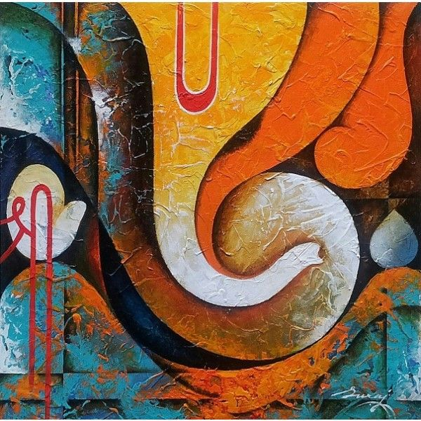 ganesha paintings modern art - photo #26