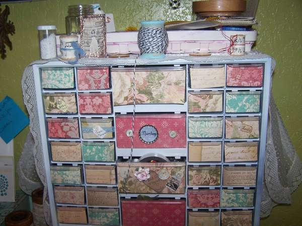 Organization idea for scrapbooking supplies #ancestry # ...