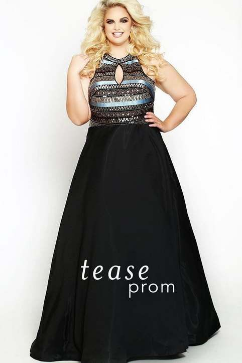 be8532d459b Платья на Новый 2019 год для полных девушек и женщин американского бренда  Tease