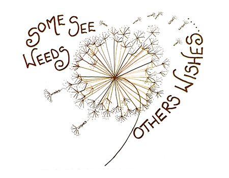 Some see Weeds Doodle Card | Zipadeedoodle
