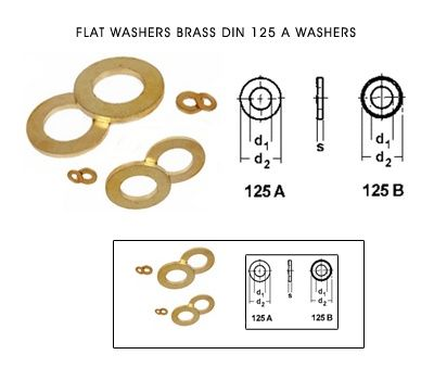 FLAT WASHERS BRASS DIN 125 A WASHERS #FLATWASHERS #BRASSDIN125AWASHERS  We are Indian manufacturers of DIN 125 A #Brasswashers  #Flatwashers  #DIN125Brasswashers Din 125 A washers,  Brass washers, Brass Flat Washers ,Jamnagar brass Din 125 A washers.