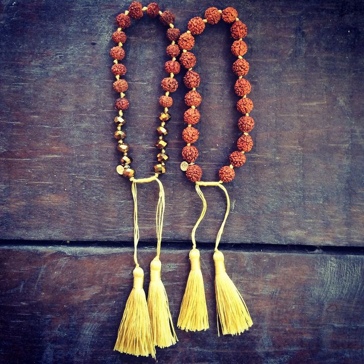 rudraksha seeds jewelry. the tear of sheva.