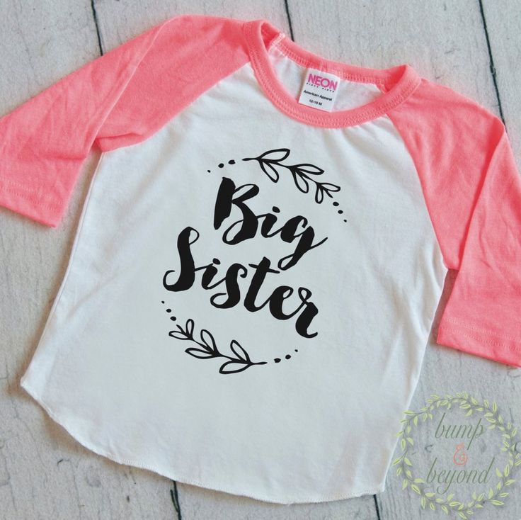 Big Sister Shirt Little Sister Shirt Girl Sibling Shirts Baby Announcement Shirt Girl Big Sister Outfit 121 #baby_announcement #baby_girl_clothes #big_sister