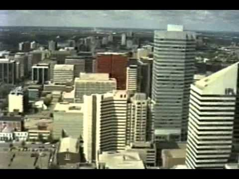 1986 July: Edmonton Alberta from the AGT Building