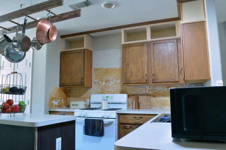 Extending the Cabinets to the Ceiling - {Kitchen Makeover ...