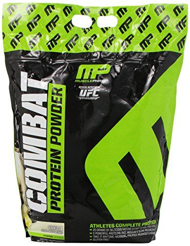 Muscle Pharm Combat Supplement, Vanilla, 10 Pound * Want to know more, visit