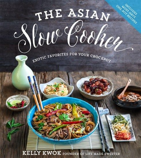 The Asian Slow Cooker was released on November 8th and is now officially available for sale. It was included in the Top 5 HOT NEW RELEASE on Amazon in Cookbooks for Slow Cooker Recipes and was named one of the BEST Books of 2016 by The Washington Post with Ina Garten and Donna Hay. You...