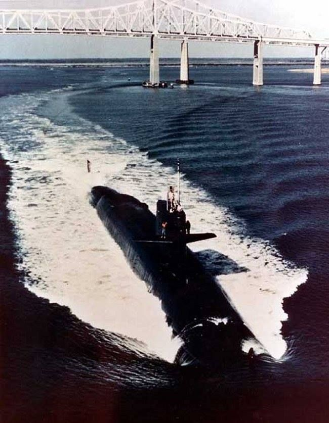 """Apr 23, 1966 - USS FRANCIS SCOTT KEY (SSBN 657) - Launched  USS Francis Scott Key (SSBN-657), a Benjamin Franklin-class ballistic missile submarine, was the only ship of the United States Navy to be named for Francis Scott Key (1779–1843), an American lawyer, author, and amateur poet who wrote the poem """"The Defense of Fort McHenry"""", which became the words to the United States' national anthem, """"The Star-Spangled Banner""""."""