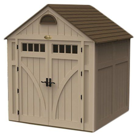 The Suncast 7Highland 7 ft. 6 in. W x 7 ft. 2 in. D Plastic Storage Shed is the perfect organizer for all your tools. Designed for utility, the tool shed helps you store and keep your tools safe. It proves to be an excellent addition to any home.The Highland 7 ft. 6 in. W x 7 ft. 2 in. D Plastic Storage Shed by Suncast has a plastic and resin construction that offers long lasting performance. The sturdy gable design provides excellent durability and lends a traditional touch to the outdoor…