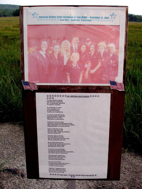 Crew of United Airlines Flight 93 - Memorial 9/11/2001 Stonycreek Township, Pennsylvania
