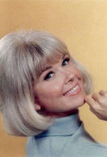 "Doris Day - my Mom looked like her & people would comment on it constantly. She would always reply, ""I am her sister Doo-Da-Day""."
