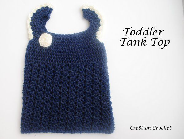 Free Crochet Toddler Tank Top Pattern : 1000+ images about Crochet Patterns for Girls on Pinterest ...