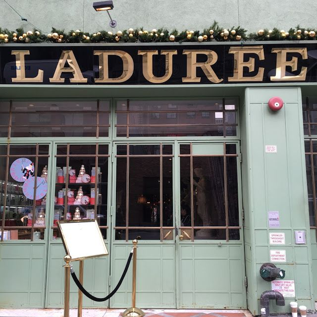 Laduree Soho - A must visit for brunch and macaroons -New York City